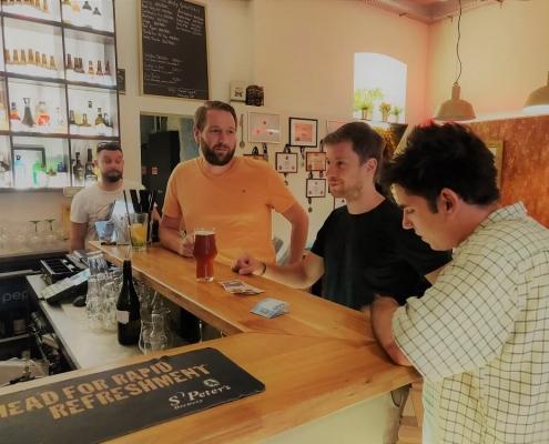 Kötetlen beszélgetés sörökről